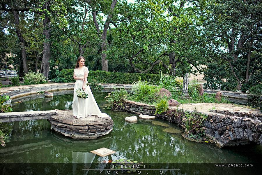 Mcnay Art Museum San Antonio Bridal Photographer Jp