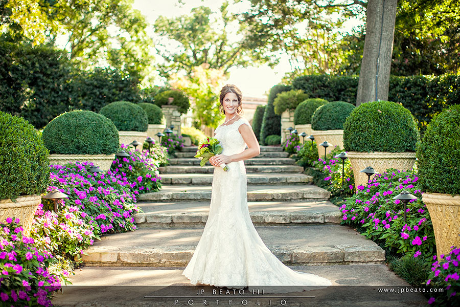 Dallas Arboretum Botanical Garden Bridal Photographer